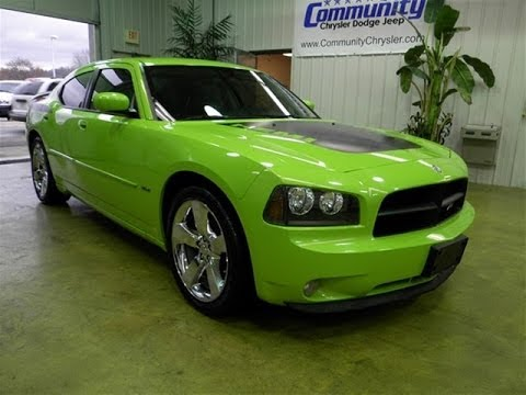 2007 Dodge Charger R T Daytona Sublime Green