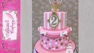 Polka Dot Princess Cake