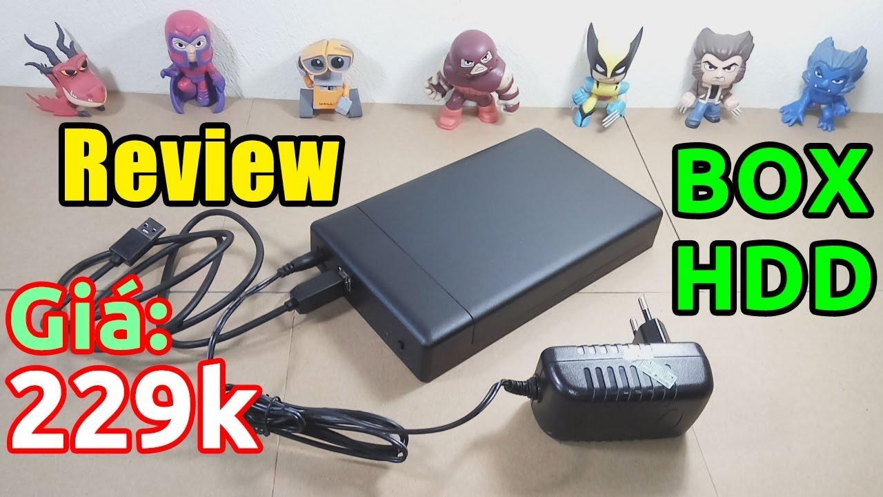 Trên tay HDD BOX ORICO ai cũng cần có