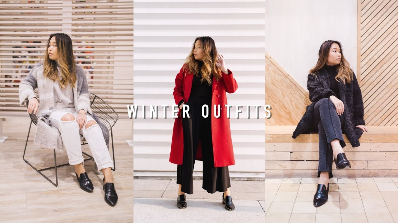 Winter Lookbook (Thrift, EILEEN FISHER, Made in USA, #30WEARS) | inspiroue 1