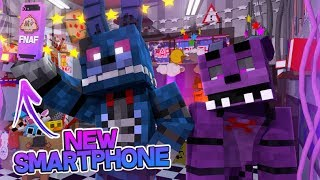 Minecraft FNAF: The New FNAF Smartphone (Minecraft FNAF Roleplay)