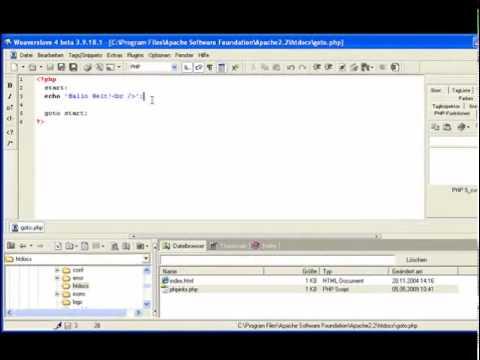 Goto - PHP 5.3 Episode 94