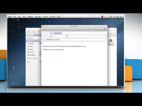 How To Reply Messages In The Mail App On Mac® OS X™
