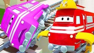 Поезд Трой и Поиски Тейлора в Автомобильный Город   Мультфильм для детей