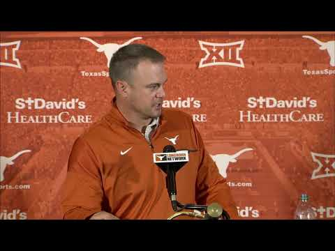 Tom Herman press conference [ Nov. 13, 2017]
