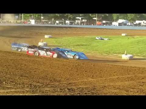 Brownstown Speedway 7-16-2016 Late Model Heat Race