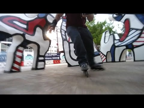 #76 Using my Rollerblade Spiritblades at Discovery Green (narrated)