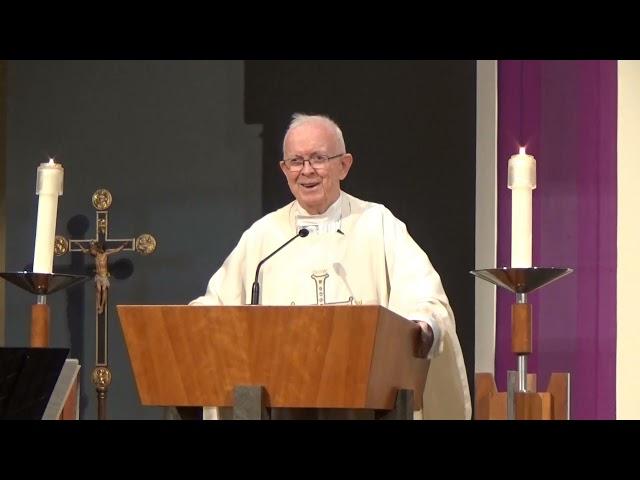 Women's Christian Fellowship, Healing Mass:  Fr.  Mike Barry, SS CC               March 25, 2021