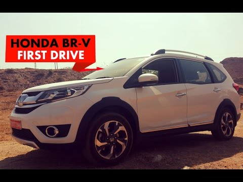 Honda BRV : First Drive : PowerDrift