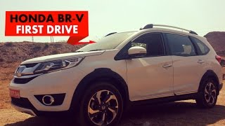 honda brv first drive powerdrift