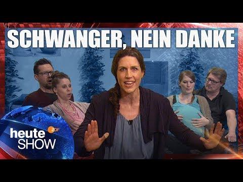 Warum man in Deutschland nicht schwanger werden sollte   heute-show vom 09.03.2018