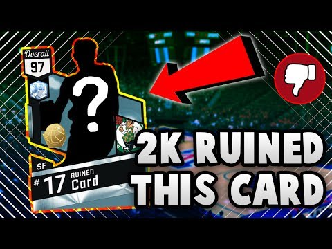 THE BEST DIAMOND SHOOTER THAT 2K RUINED IN NBA 2K17 MyTEAM.....