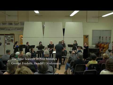 Pacific Flute Ensemble - Vivaldi / Nishimura The Four Seasons in Five Minutes