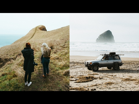 Oregon Coast - Epic Morning Hike & Getting Stuck