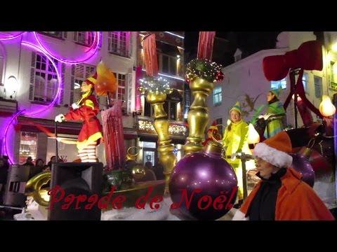 Parade de Noël RTL à Bruxelles