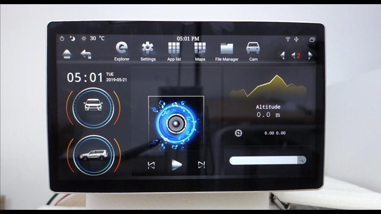 Belsee Unboxing Review PX6 Android 8 1 Auto Head Unit Tesla Style  Navigation System for Universal