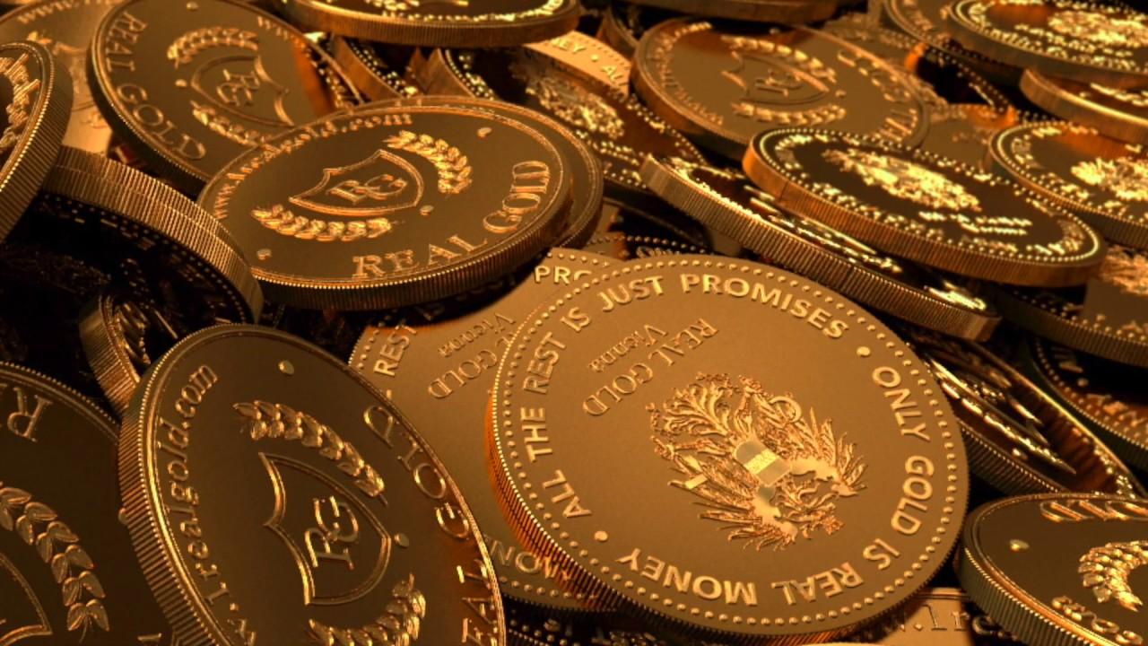 Los Lingotes Y Monedas De Oro Compañía Real Gold Youtube