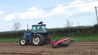 Sowing beet in Co. Laois