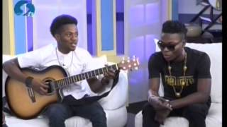 Rendition of Dorobucci by Korede Bello and Reekado Banks on Today on STV