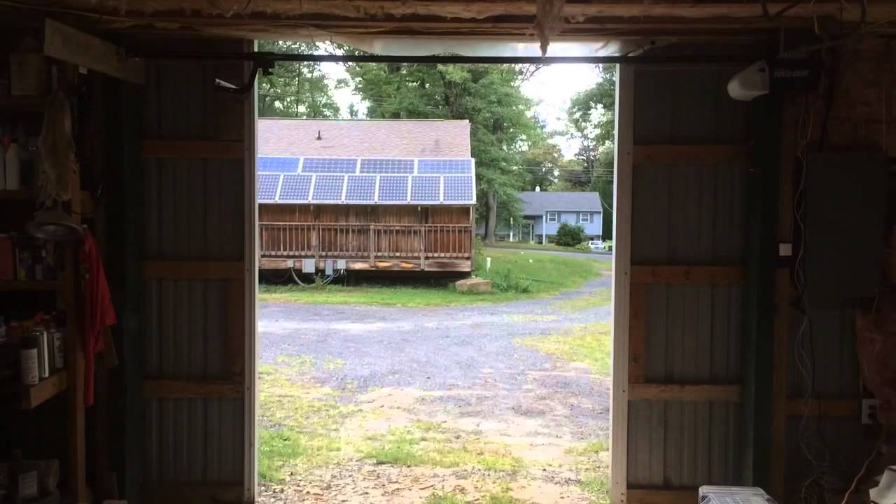 Automatic Opening Barn Door Openers Youtube