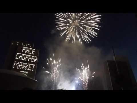 Fireworks - Albany, NY - Empire State Plaza - July 4, 2017