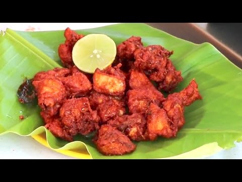 Indian Fried Chicken Recipe Indian Street Food By Balaji Fast