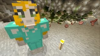 Minecraft Xbox - Cave Den - Haunted Cave! (41)