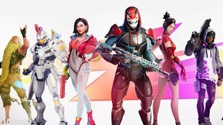New Fortnite Season 9!!! YOU'VE GOT TO SEE THE TIER 100 SKIN!!!