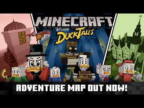 DuckTales Adventure Map