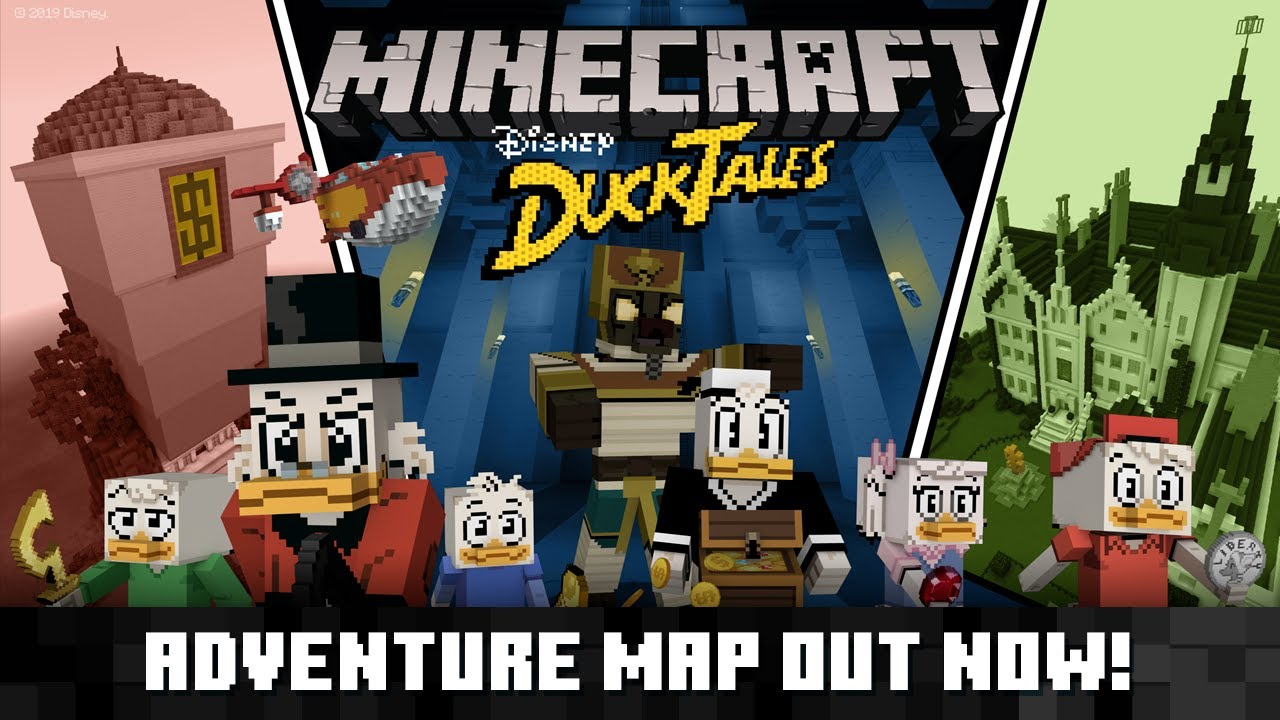 DuckTales meets Minecraft in new mash-up pack | Windows Central