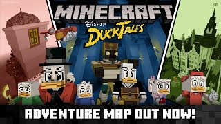 DuckTales Adventure Map