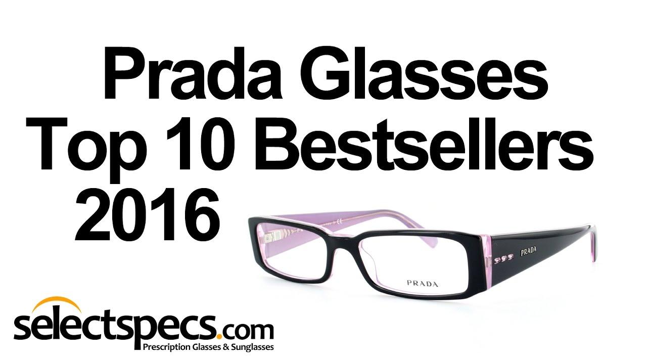 a08c6367cde Top 10 Optical Prada Bestsellers 2016 - With Selectspecs.com - YouTube