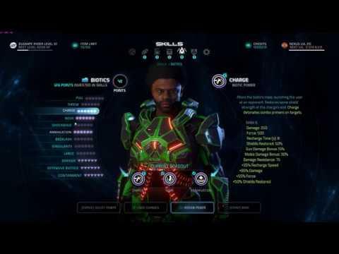 Mass Effect Andromeda Best Sentinel Build
