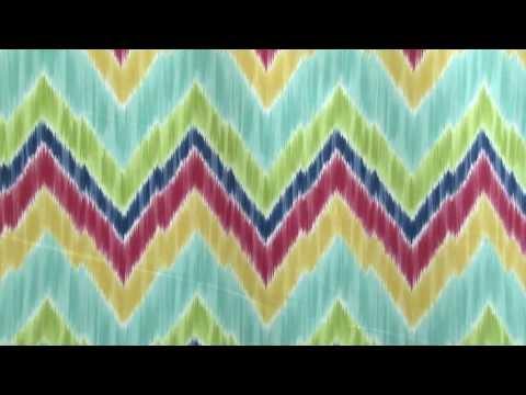 Video of Braemore Tribal Find Sherbert Fabric #104077