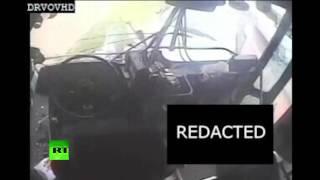 Пять ракурсов ДТП: полиция Детройта опубликовала видео из автобуса, попавшего в аварию