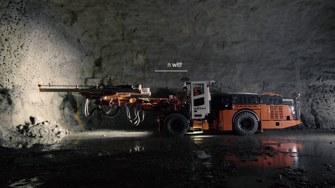 Sandvik DD422iE | Sandvik Mining and Rock Technology