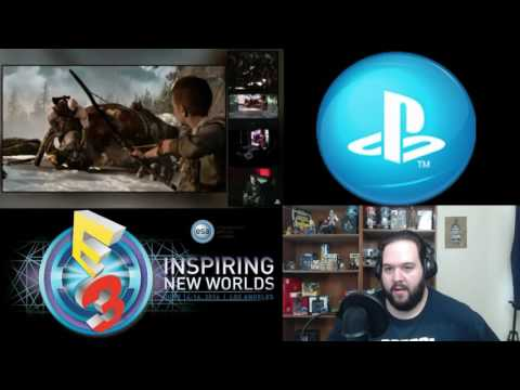 Sony Press E3 Conference 2016 Reaction Full Uncut video
