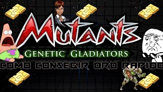▼▼▼Como hacer trucos en MUTANTS GENETIC GLADIATORS▼▼▼