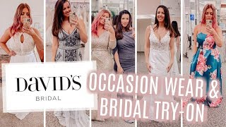MY SIS & I TRIED ON DRESSES AT…