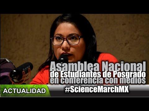 La ANEP en #ScienceMarchMx
