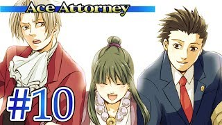 WORKING TOGETHER?! - Let's Play - Phoenix Wright: Ace Attorney - 10