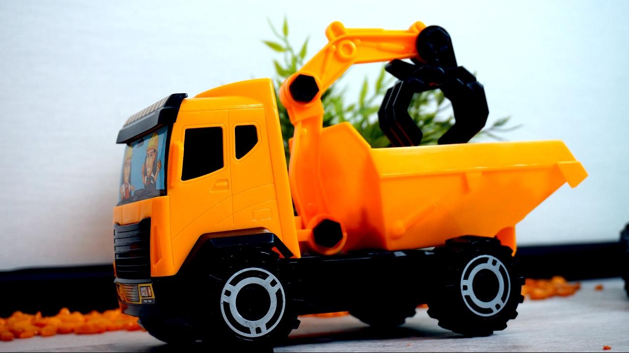 Toy Truck Videos For Children Tractors For Children Game