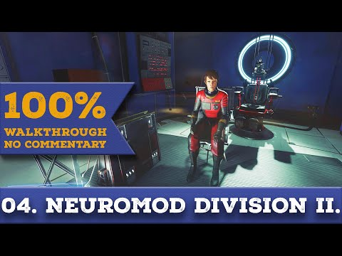 Prey 2017 Walkthrough [1440p] (All Collectibles,Nightmare) part 4 NEUROMOD DIVISION - SECOND VISIT