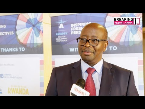 James Musoni, minister of infrastructure for Rwanda