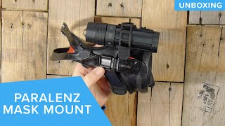 Paralenz Adjustable Mask Mount | Unboxing