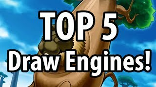 The Top 5 Best Yu-Gi-Oh Draw Engines!