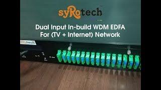 EDFA   DUAL INPUT IN -BUILD WDM EDFA   SYROTECH NETWORKS