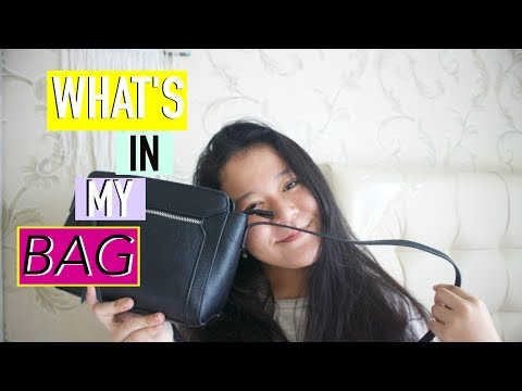 WHAT'S IN MY BAG 2017🌸!! (Bahasa Indonesia)