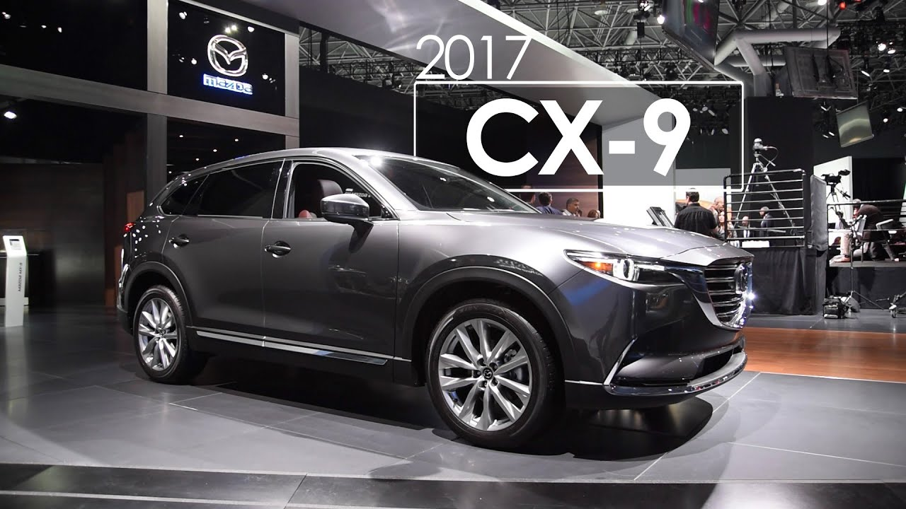 2016 mazda cx 9 2016 new york international auto show. Black Bedroom Furniture Sets. Home Design Ideas