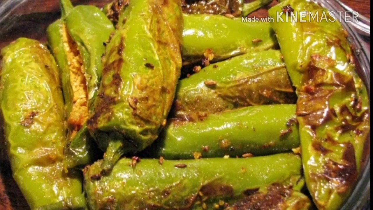 Bharwa Mirch Recipe | Besan Ki Masala Mirchi Recipe | Stuffed Chilli